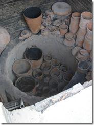 Wood fired kiln – Giriraj Prasad's studio