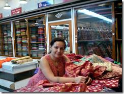 Sara Thorn in India