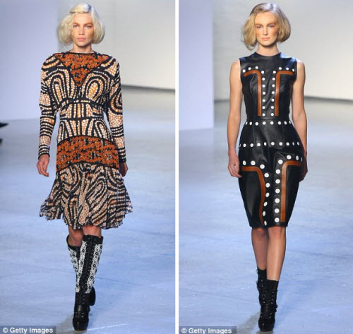 Rodarte fashion with Aboriginal designs
