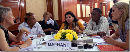 Roundtable in Delhi October 2011
