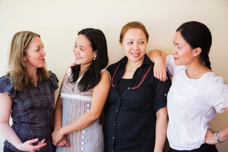 Samorn Sanixay and Global Sisters
