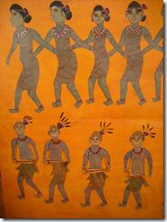 Traditional paintings exhibited at the craft fair, Bhubeneswar, Orissa