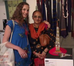 Sitaben Chawda  and Minna Loft