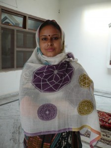Sara Thorn Jewel scarf