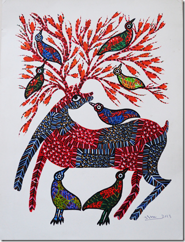 Gond Art exhibition in Adelaide
