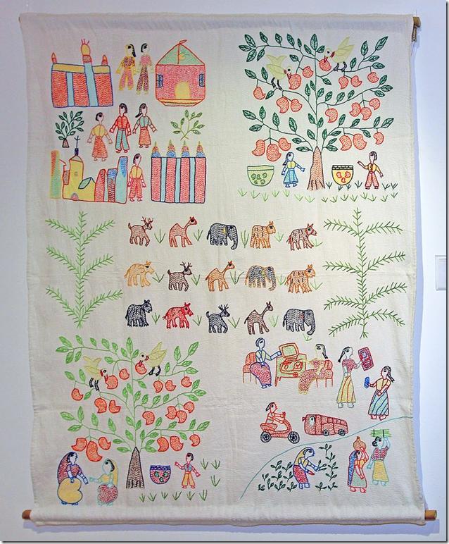 Archana Kumari embroidery